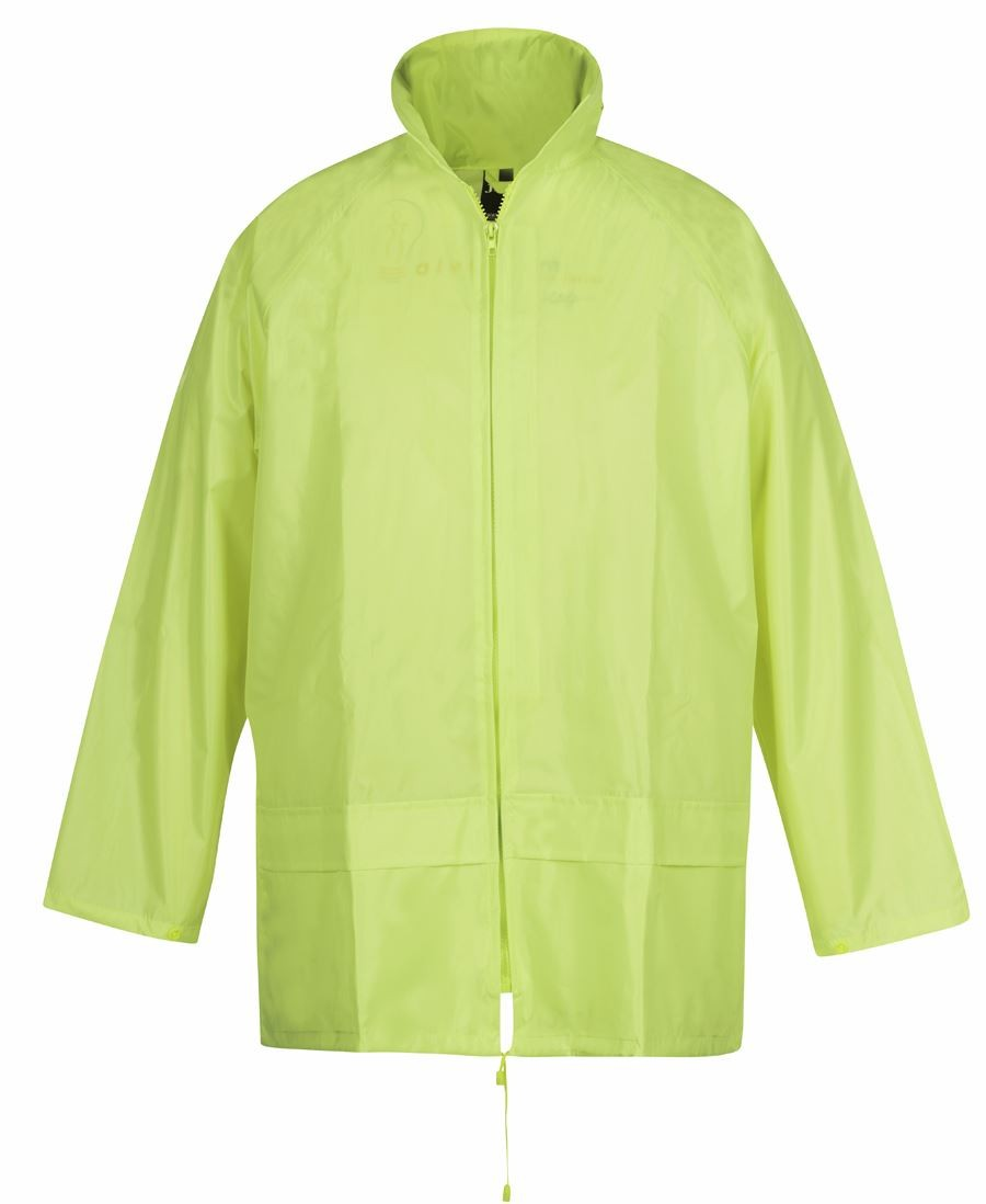 JB's hi vis Bagged Rain Jacket/Pant Set