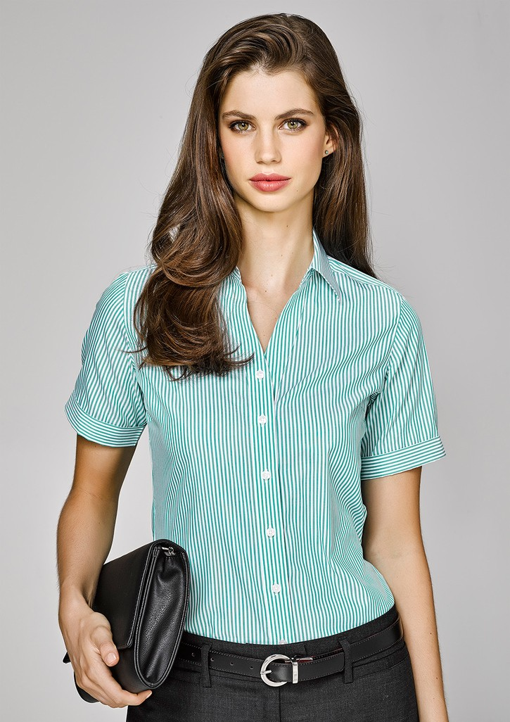 Vermont Ladies Short Sleeve Shirt