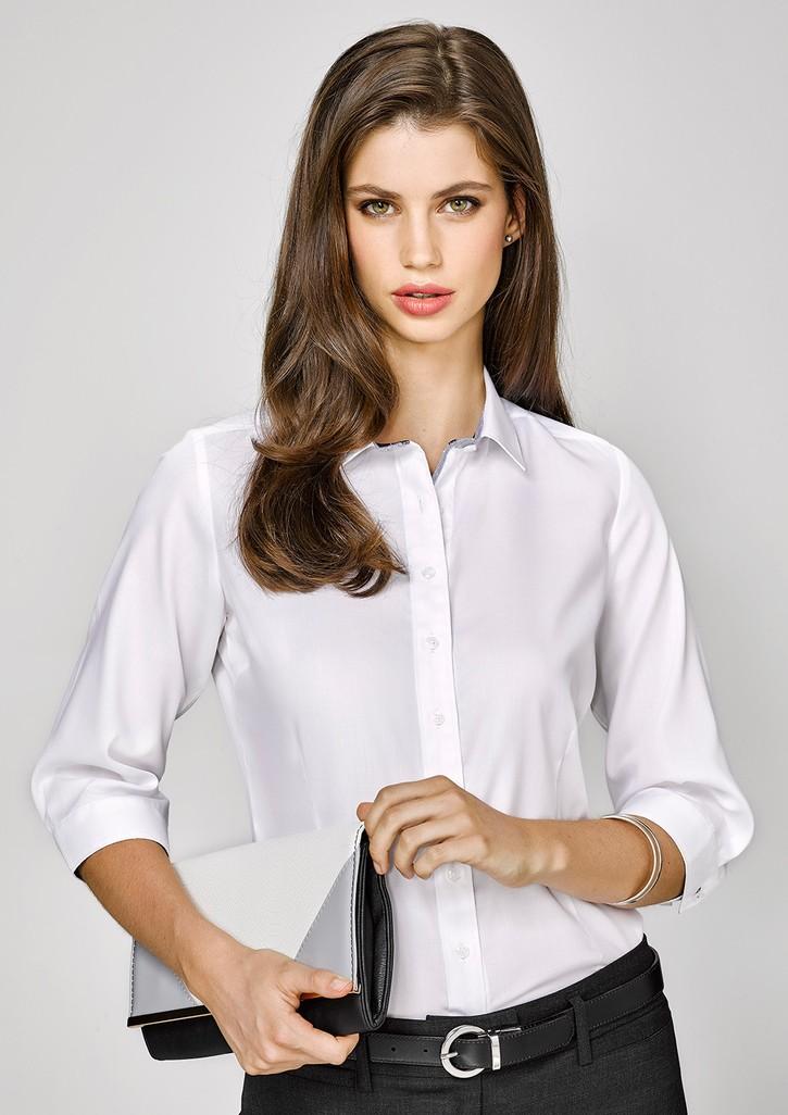 Herne Bay Ladies 3/4 Sleeve Shirt
