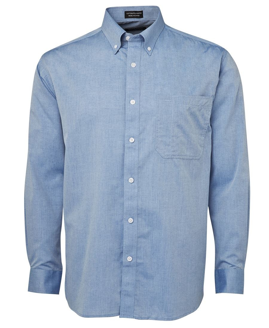 JB's Original Long Sleeve Fine Chambray Shirt