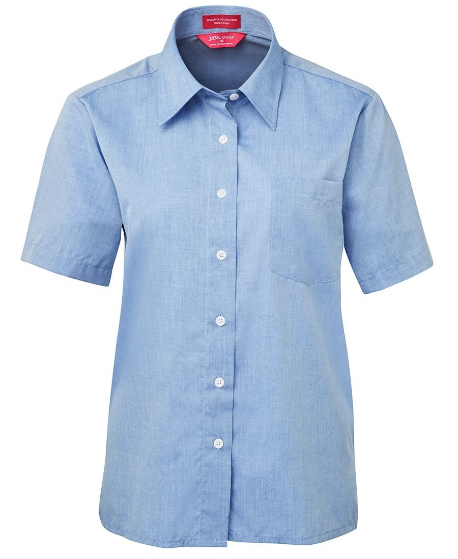 JB's Ladies Original Short Sleeve Fine Chambray Shirt