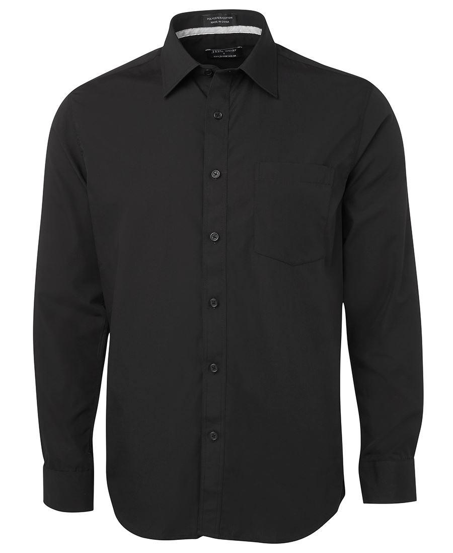 JB's Long Sleeves Contrast Placket Shirt