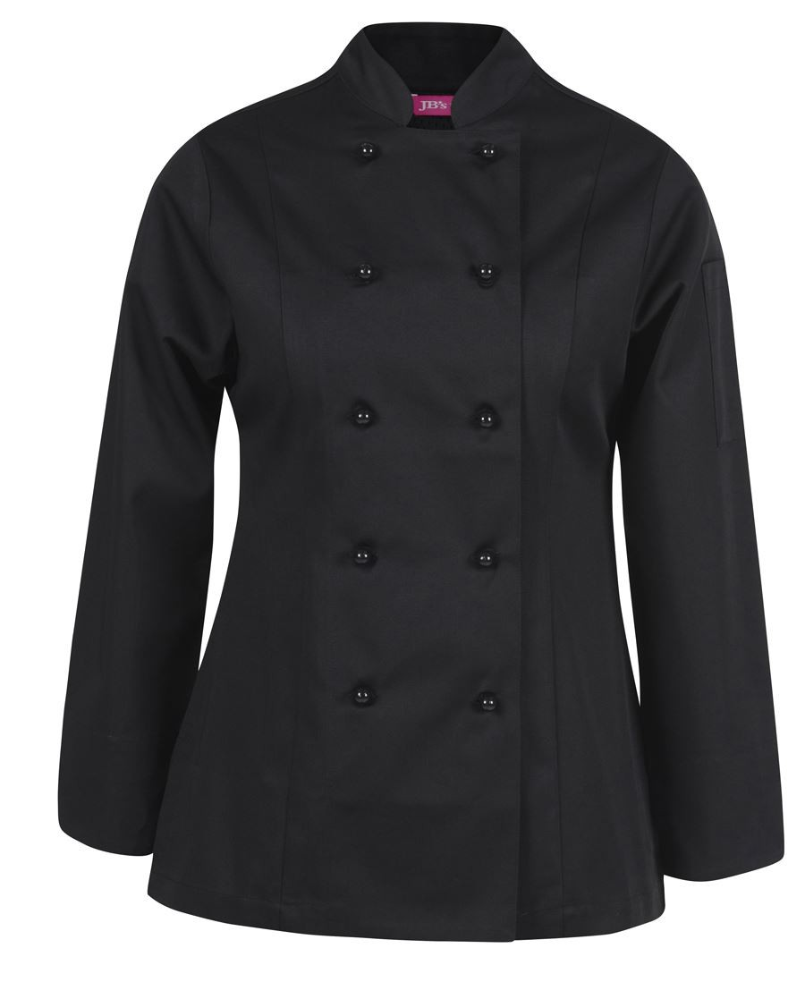 JB's Ladies Long Sleeves Vented Chef's Jacket