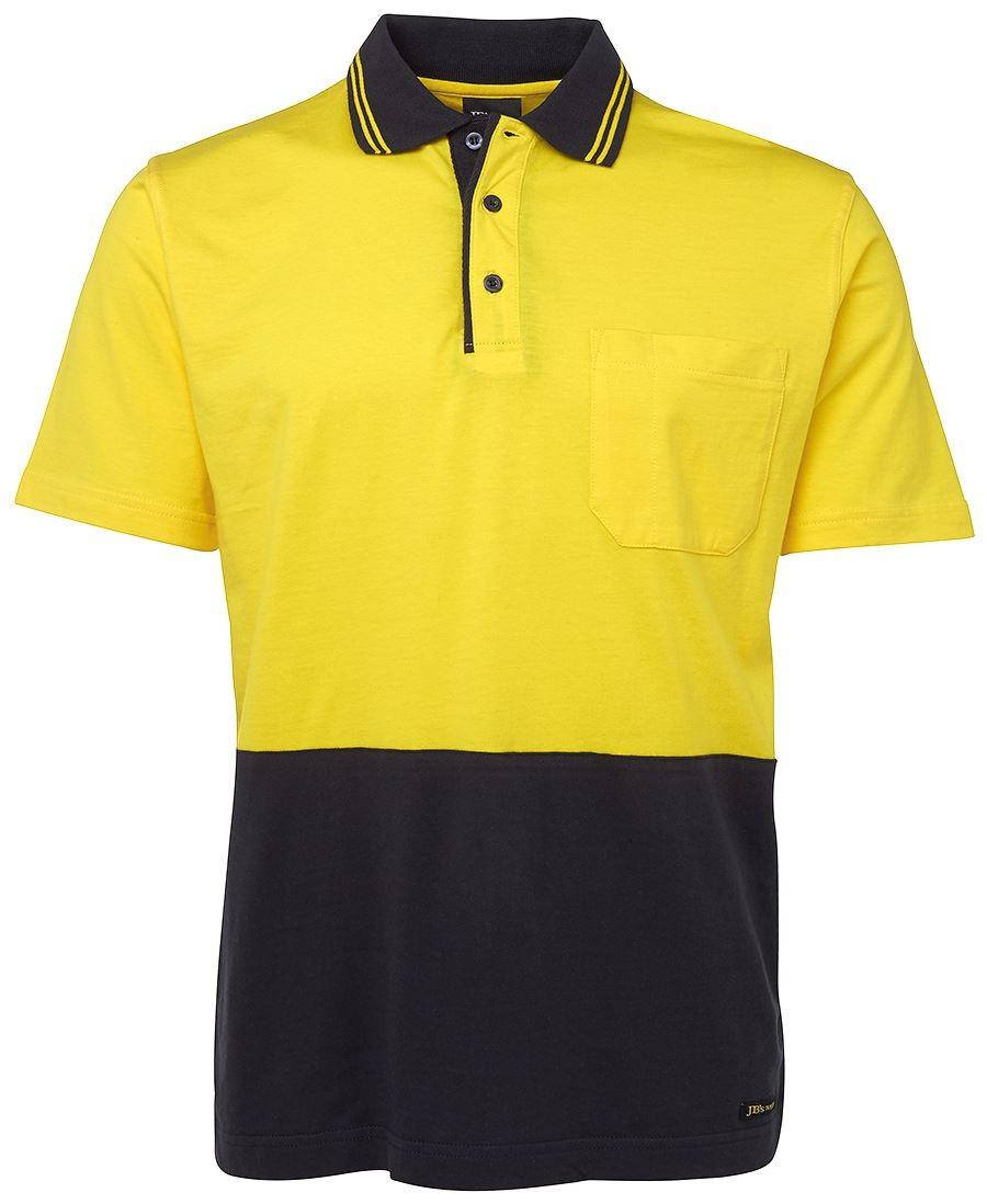 JB's Hi Vis S/S Cotton Polo