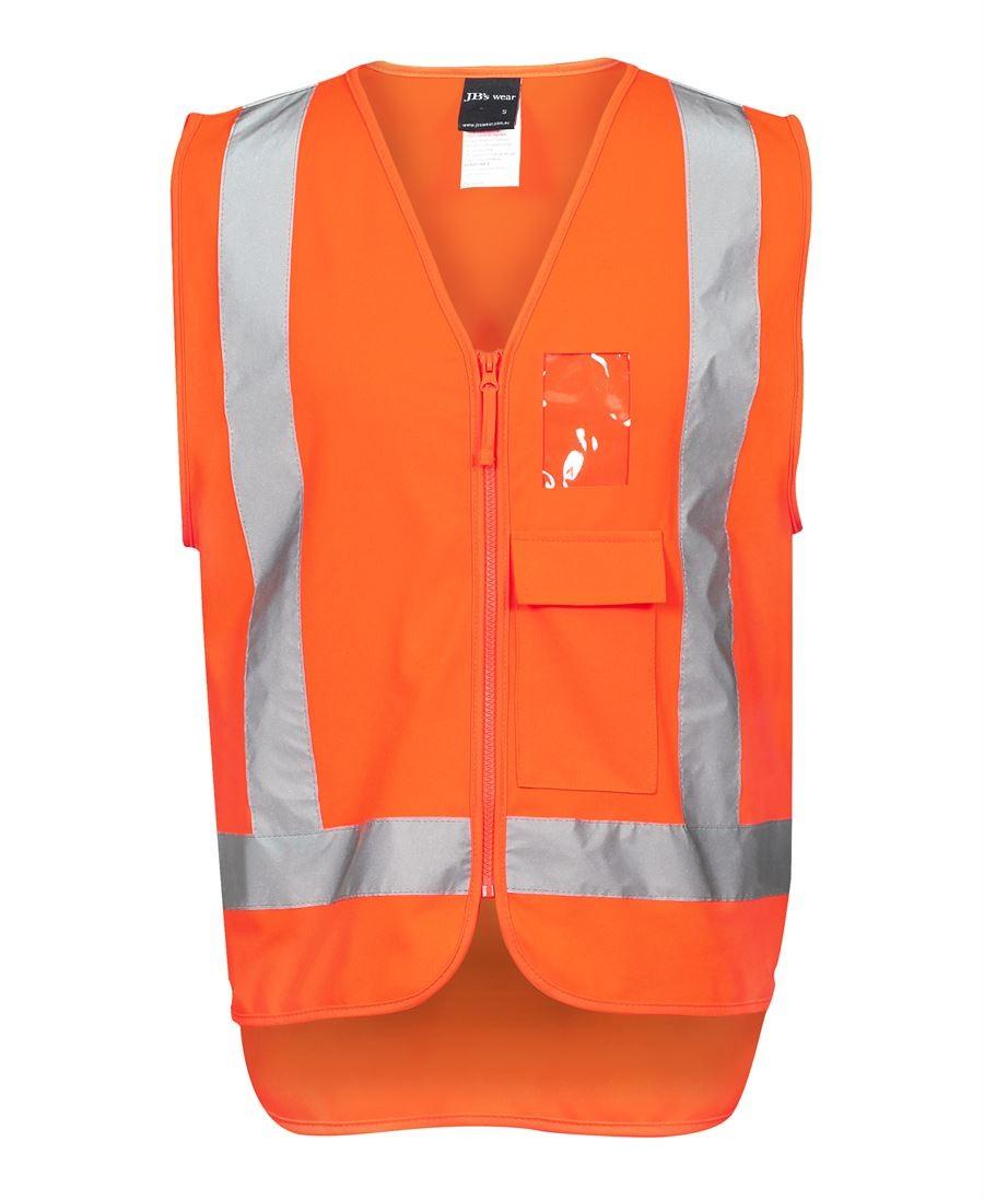 JB's Hi Vis Zip (D+N) TTMC-W Vest