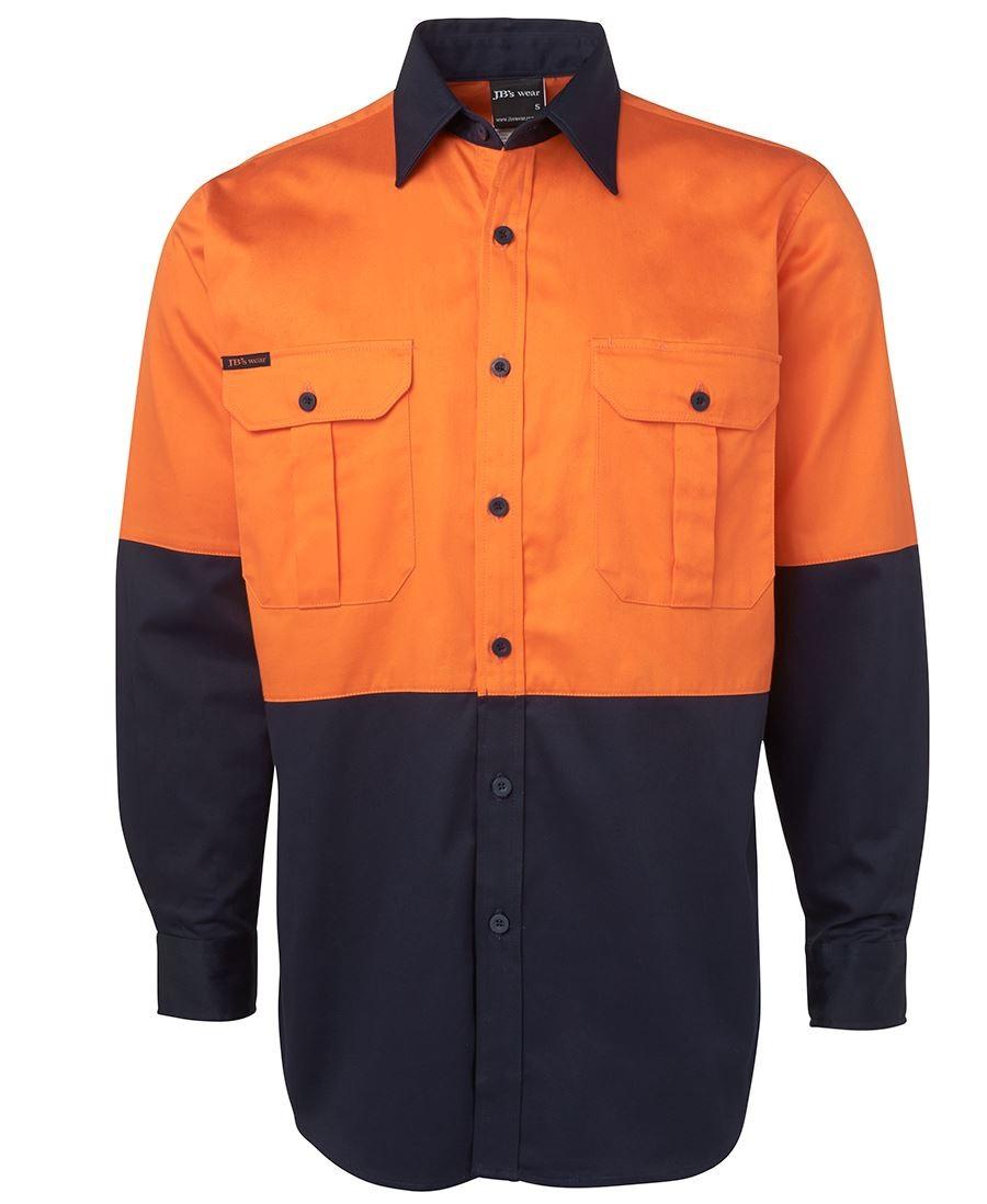 JB's Hi Vis L/S 190G Shirt
