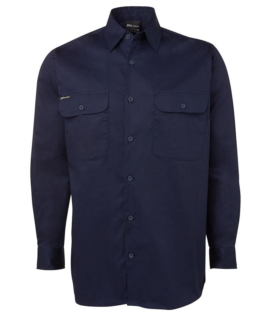 JB's Long Sleeves 150G Work Shirt