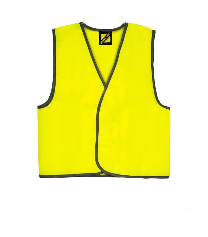 Workcraft - Kids Hi Vis Safety Vest-Yellow-14