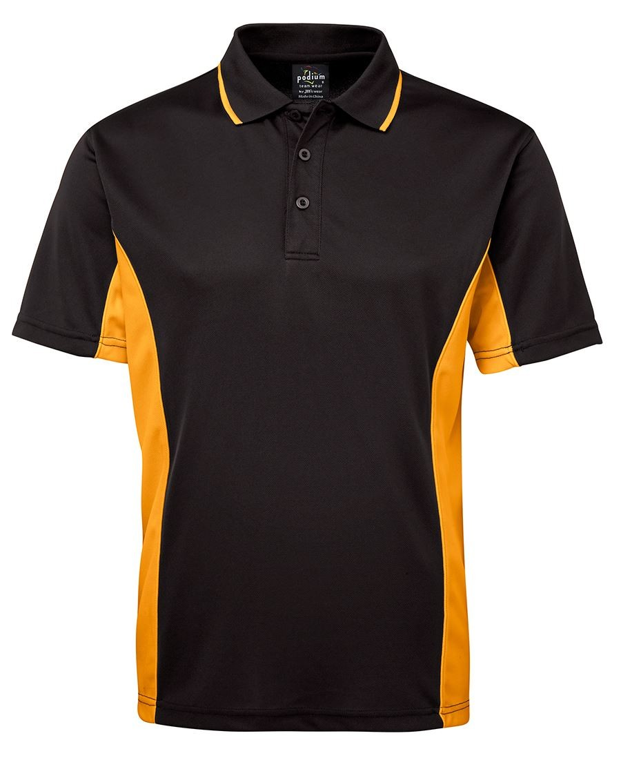 JB's Podium Double Contrast Poly Polo