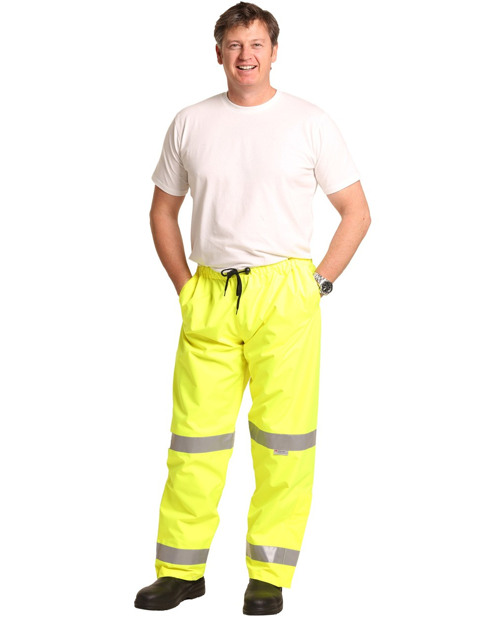 Winning Spirit High Visibility Safety Pants with 3M Reflective Tapes