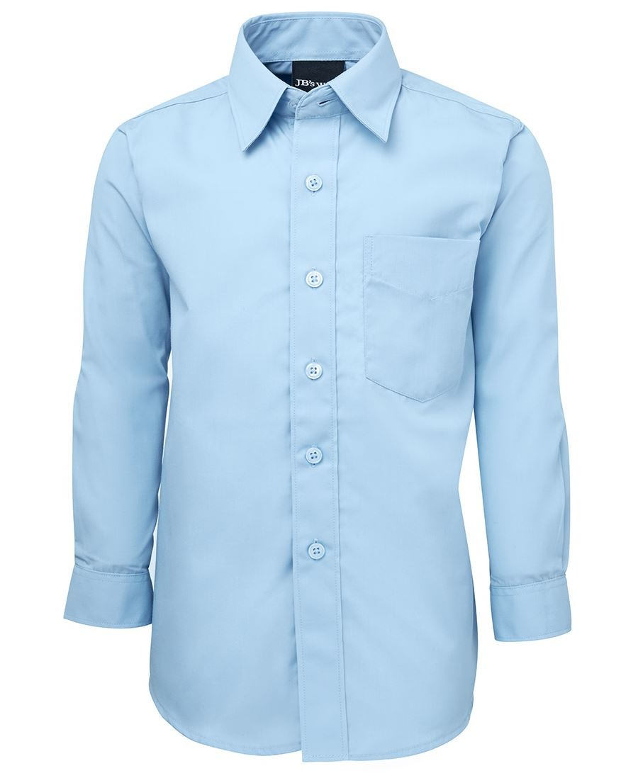 JB's Kids Long Sleeves Poplin Shirt
