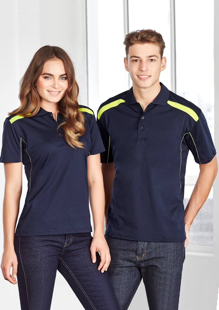 Biz Collection Mens United Short Sleeve Polo