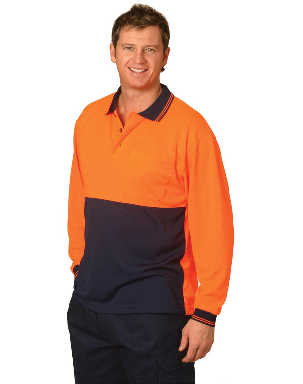 Winning Spirit  CoolDry® Micro-mesh Safety Polo