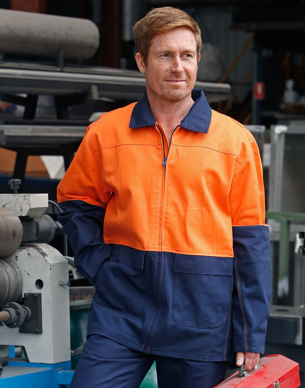 Winning Spirit High Visibility Cotton Jacket