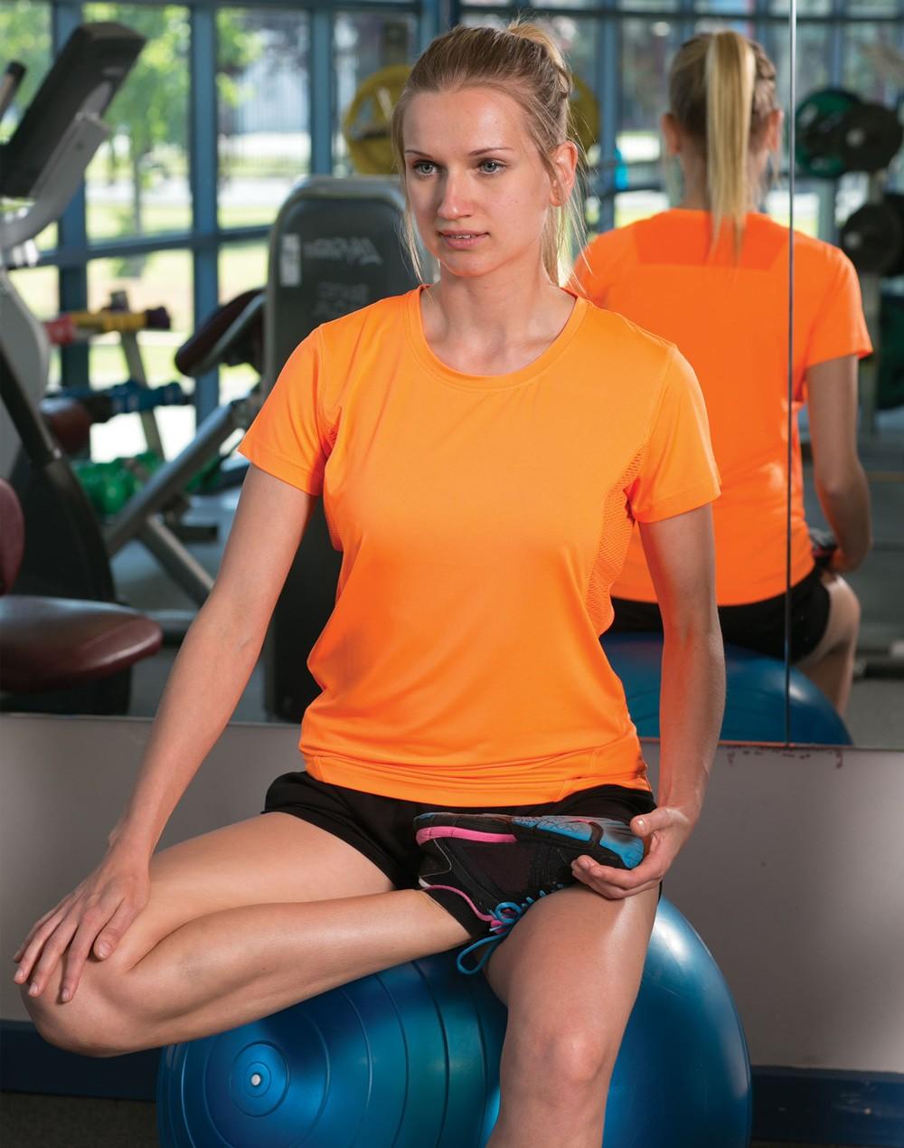 Winning Spirit Ladies' CoolDry® Stretch Tee Shirt