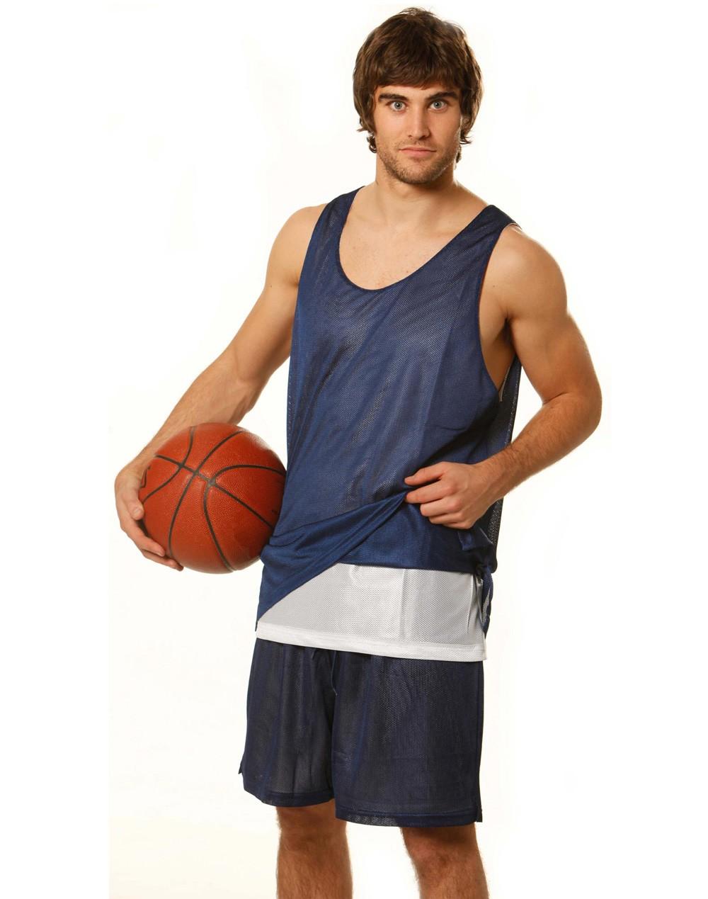 Winning Spirit Adults' CoolDry®Reversible Basketball Singlet