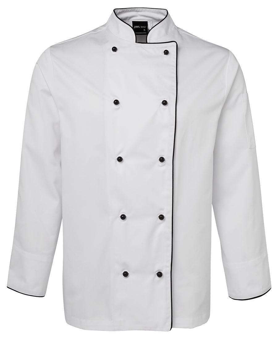 JB's Long Sleeves Unisex Chefs Jacket