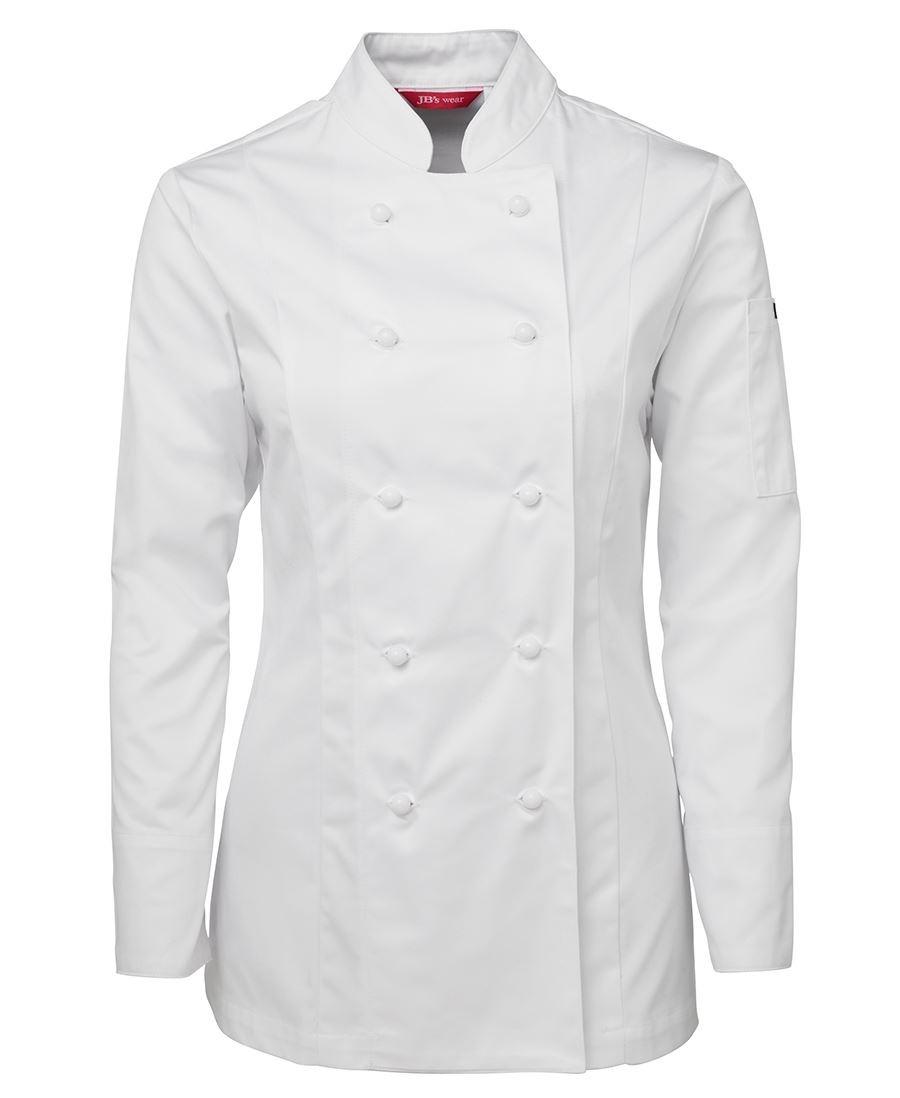 JB's Ladies Long Sleeves Chef's Jacket