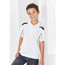 Biz Collection Kids United Short Sleeve Polo