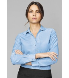 Solanda Ladies Plain Long Sleeve Shirt