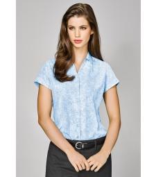 Solanda Ladies Print Short Sleeve Shirt