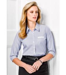 Calais Ladies 3/4 Sleeve Shirt