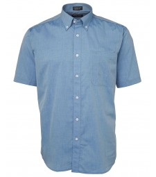 JB's Original Short Sleeve Fine Chambray Shirt