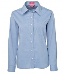 JB's Ladies Original Long Sleeve Fine Chambray Shirt