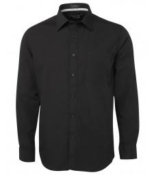 JB's Long Sleeves Contrast Placket Shirt