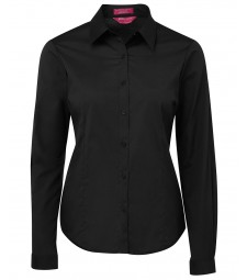 JB's Ladies Urban Long Sleeve Poplin Shirt