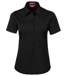 JB's Ladies Urban Short Sleeve Poplin Shirt