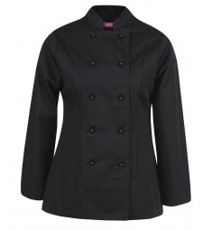 JB's Ladies Long Sleeves Vented Chef's Jacket