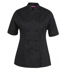 JB's Ladies Short Sleeves Vented Chef's Jacket