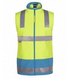 JB's  Hi Vis (D+N) Softshell Vest