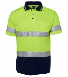 JB's Hi Vis S/S (D+N) Traditional Polo