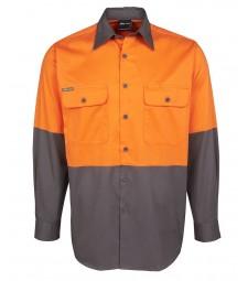 JB's Hi Vis L/S 150G Shirt