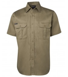 JB's Short Sleeves 190G Work Shirt