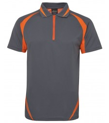 JB's Podium Zip Poly Polo