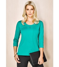 Advatex Ladies Abby 3/4 Sleeve Knit Top