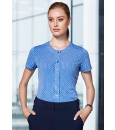Advatex Ladies Leah Button Knit Top