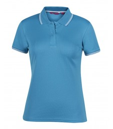 JB's Podium Ladies Jacquard Contrast Polo
