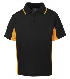 JB's Podium Kids Contrast Polo
