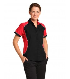 Winning Spirit Ladies' Tri-colour Contrast Shirt