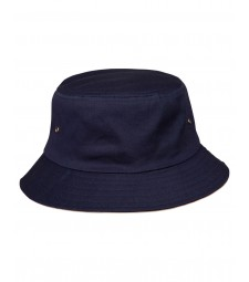 Winning Spirit Enzyme Washed With Contrasting Underbrim Bucket Hat