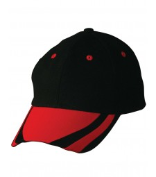 Winning Spirit Peak and Eyelets Contrast Cap