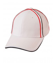 Winning Spirit Tri-Colour Pique Mesh Cap