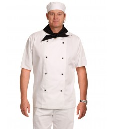 Winning Spirit Traditional Chef's Short Sleeve Jacket