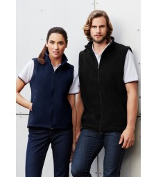 Biz Collection Ladies Plain Micro Fleece Vest