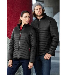 Biz Collection Mens Expedition Quilted Jacket