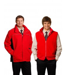 Winning Spirit Men's 3-in-1 Jacket With Reversible Vest